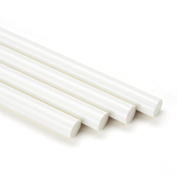 White Wood Knot Filler Glue, 5 Stick Pack