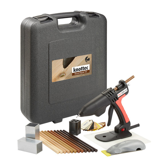Tec 820-12 Knottec Professional Wood Repair Glue Gun Kit