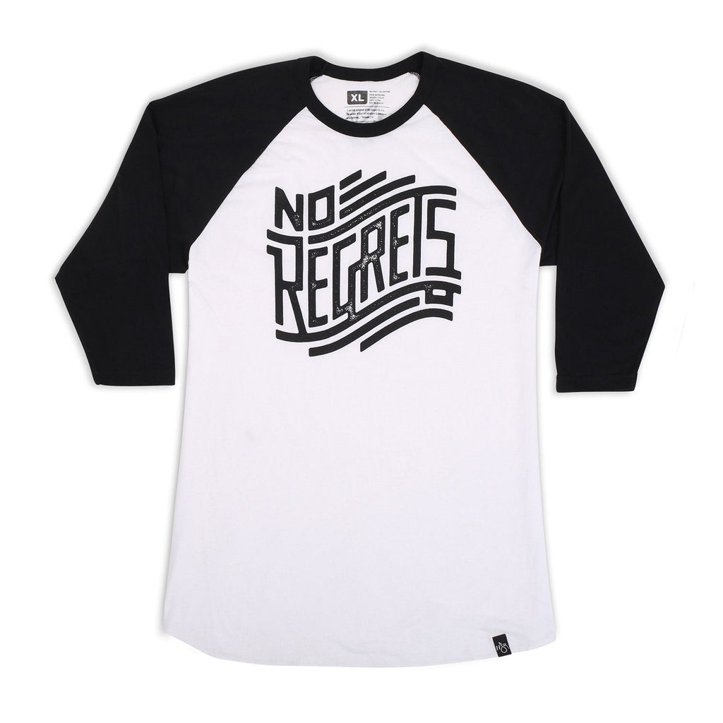 'No Regrets' Raglan