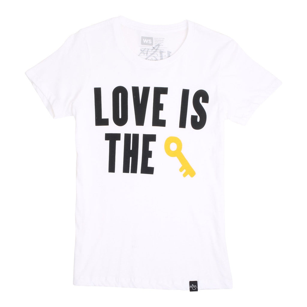 'Love Is The Key' Women's T-Shirt