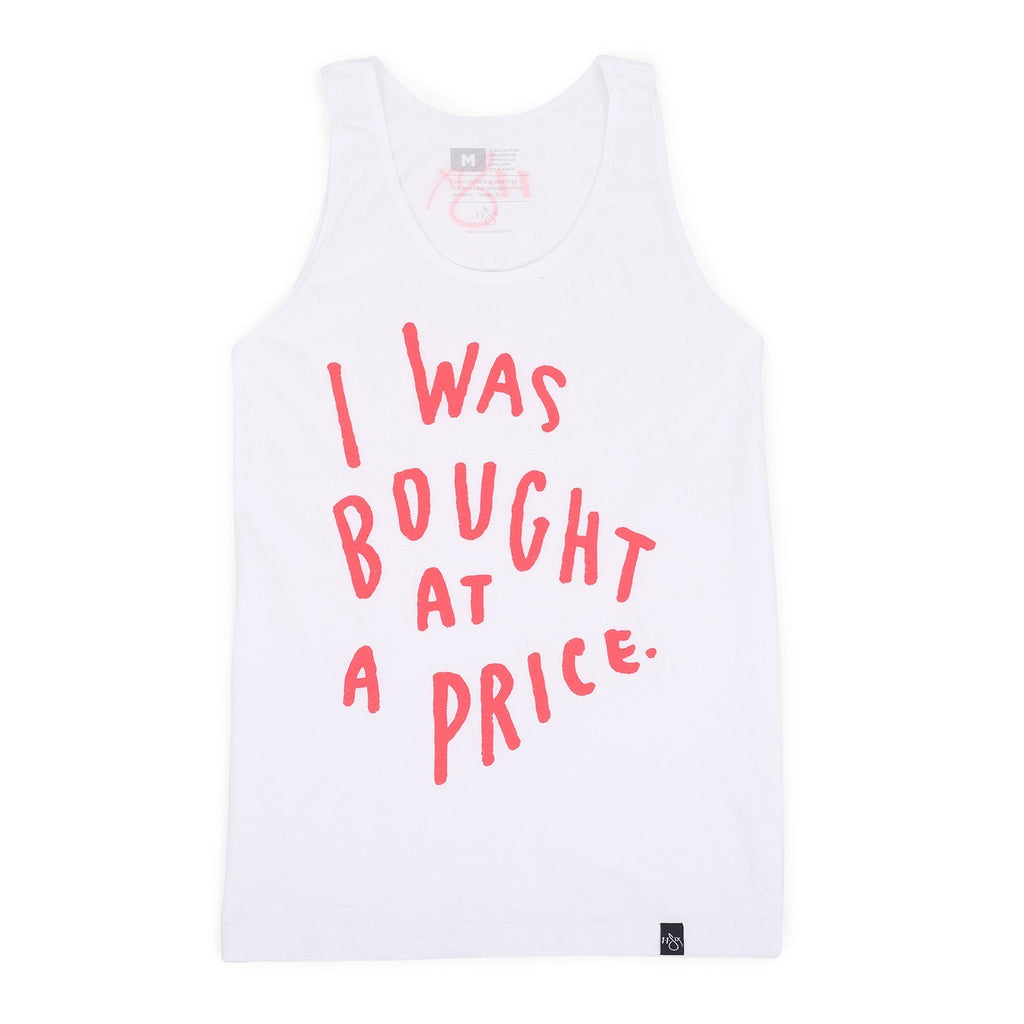 'I Was Bought At A Price' Tank Top
