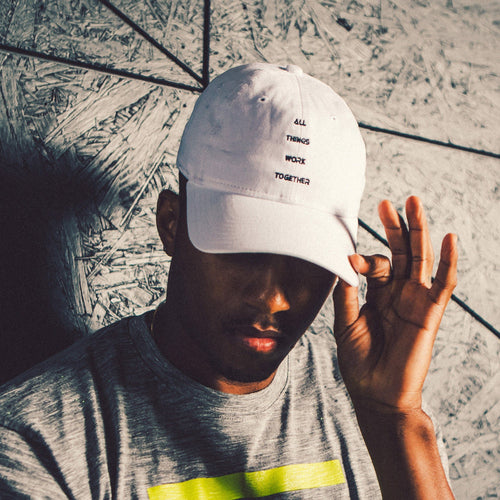 Lecrae x New Era 'ATWT' Dad Hat - White