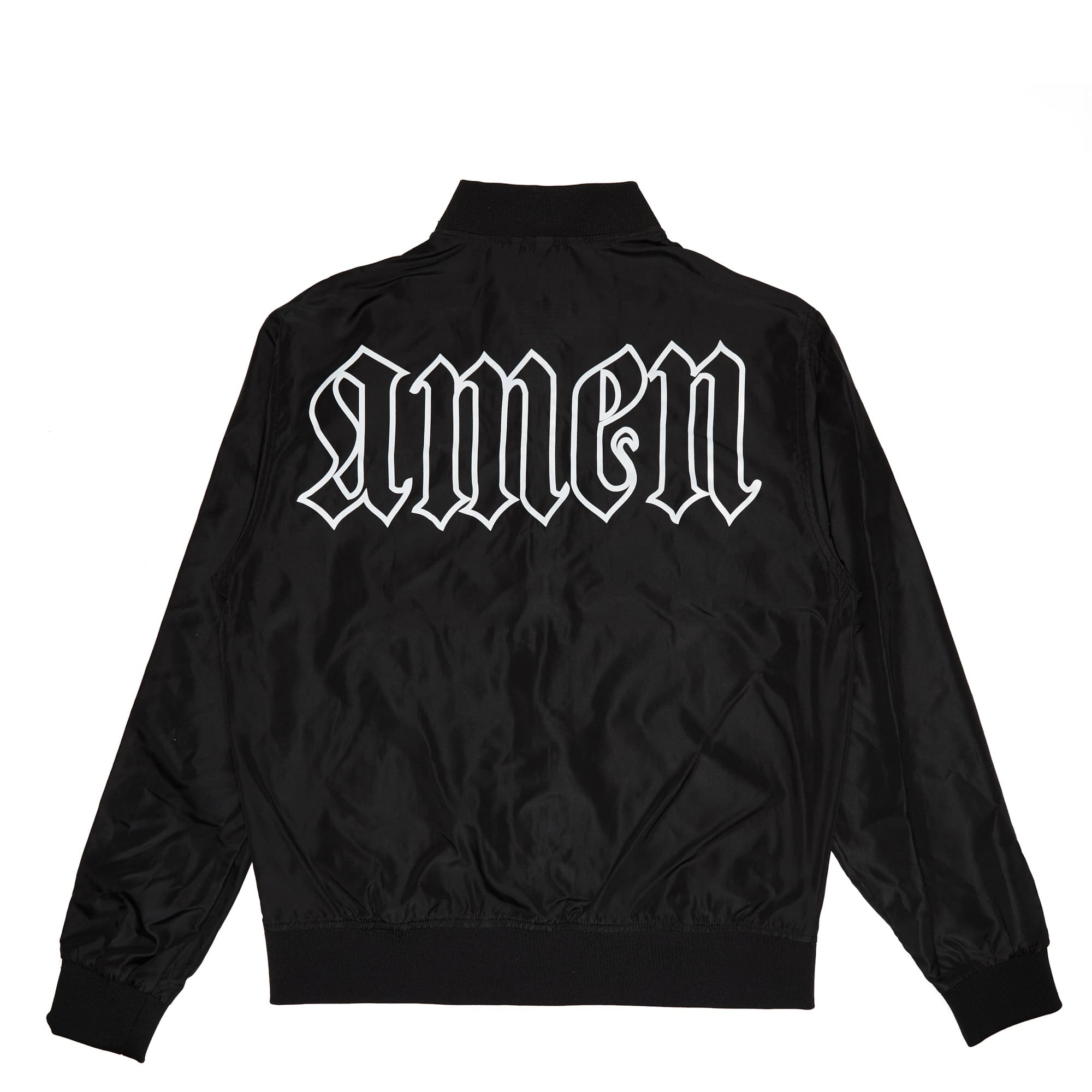'Amen' Lightweight Bomber Jacket