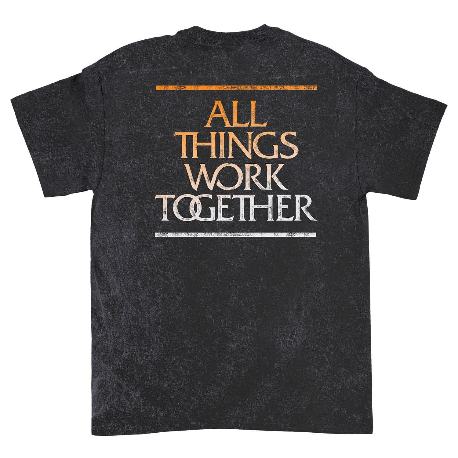 'All Things Work Together' Acid Wash T-Shirt