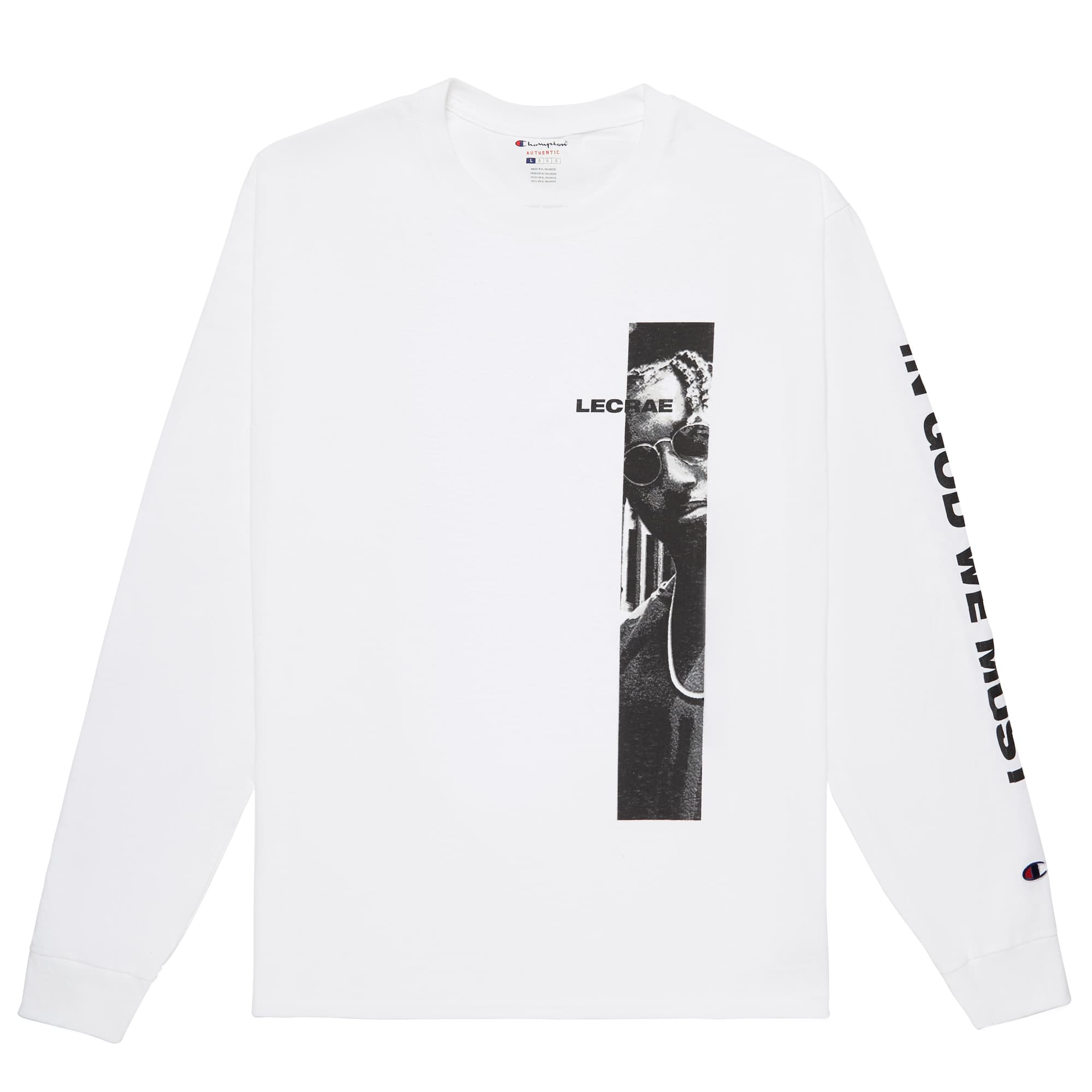 Lecrae x Champion 'In God We Must' Long Sleeve