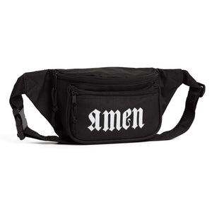 'Let The Trap Say Amen' Sling Bag