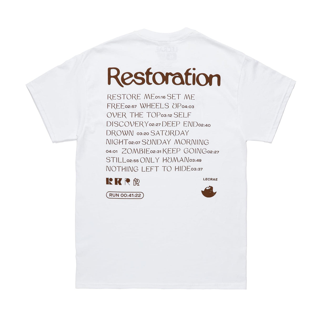 'Restoration Track List' T-Shirt