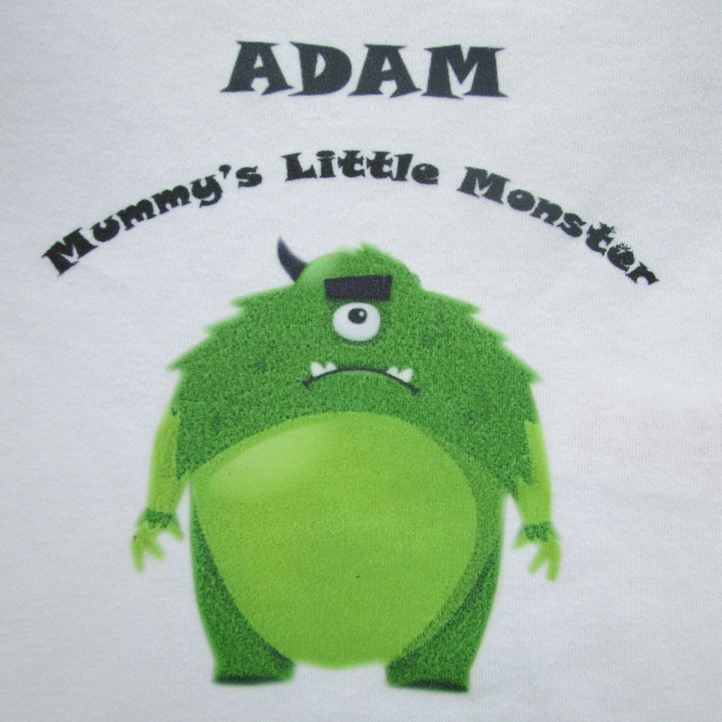 f3b035ada Personalised Baby Grow - Little Monster Design – Good Little Gifts Co