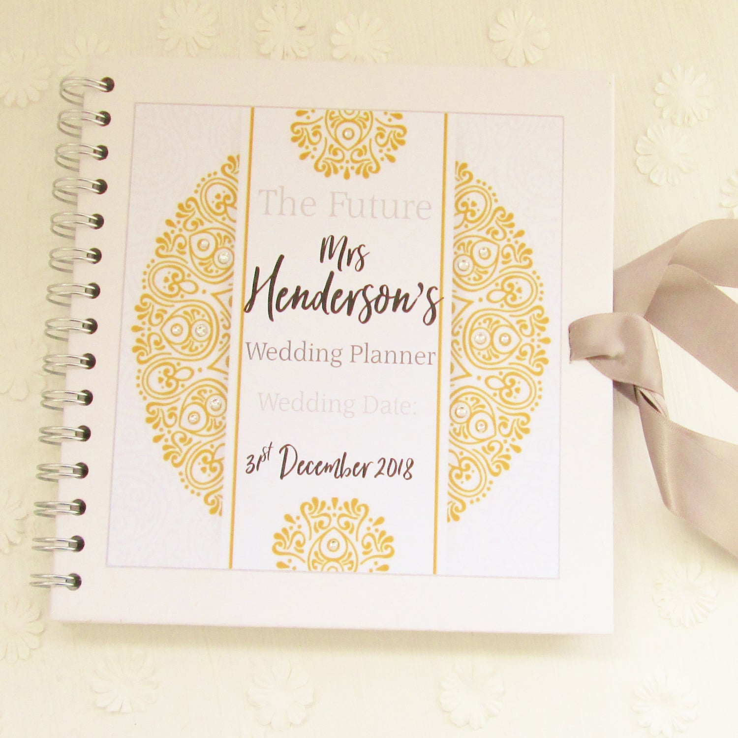 Personalised wedding organiser book good little gifts co personalised wedding organiser book solutioingenieria Image collections