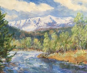 'The Scottish Spring Exhibition' at The Butterworth Gallery, in Royal Deeside.