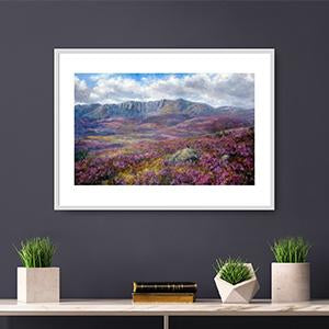 A wide range and collection of Scottish images by artists Howard Butterworth. These fine art images of Scotland are available to buy as signed limited or unlimited edition prints.
