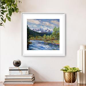 A wide range and collection of Scottish landscape images by artists Howard Butterworth and Mary Louise Butterworth These fine art images of Scotland are available to buy as signed limited or unlimited edition prints.