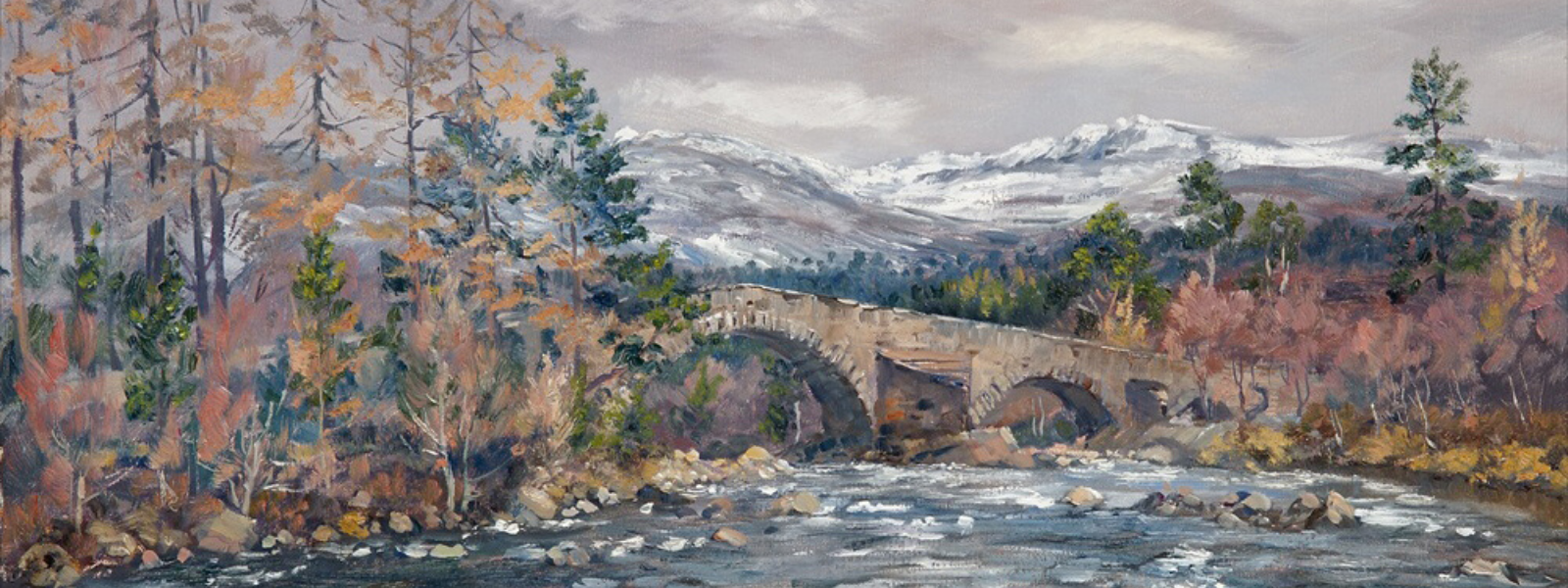 Original Scottish Fine Art and Signed limited Prints for Sale by Scottish artist Howard Butterworth Scottish Art Gallery The Butterworth gallery in Royal Deeside Scotland.