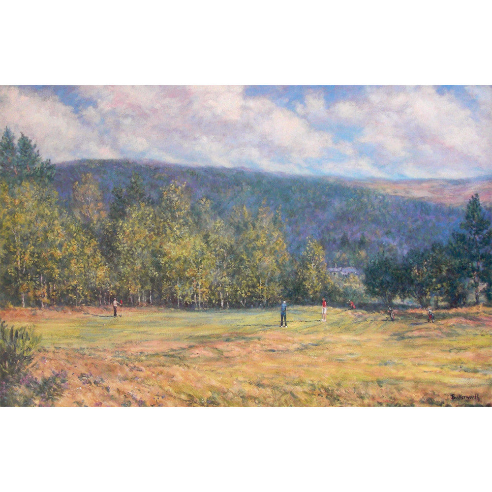 A summer round at Ballater - Ballater Golf Course