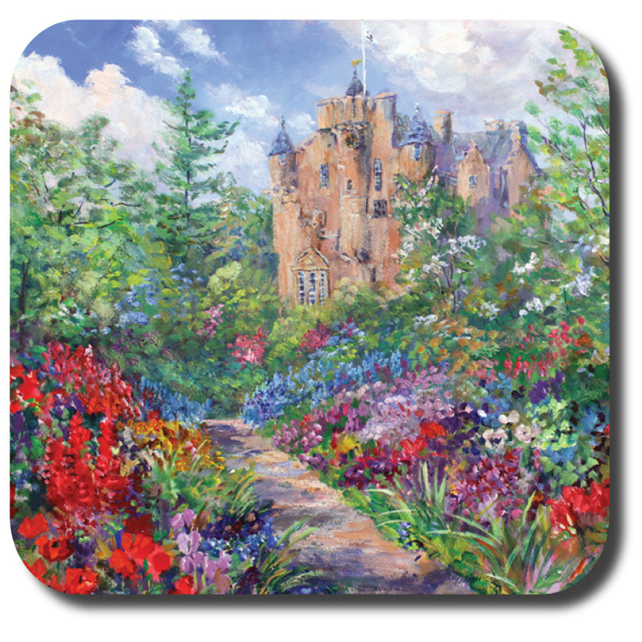 Crathes Castle Coaster