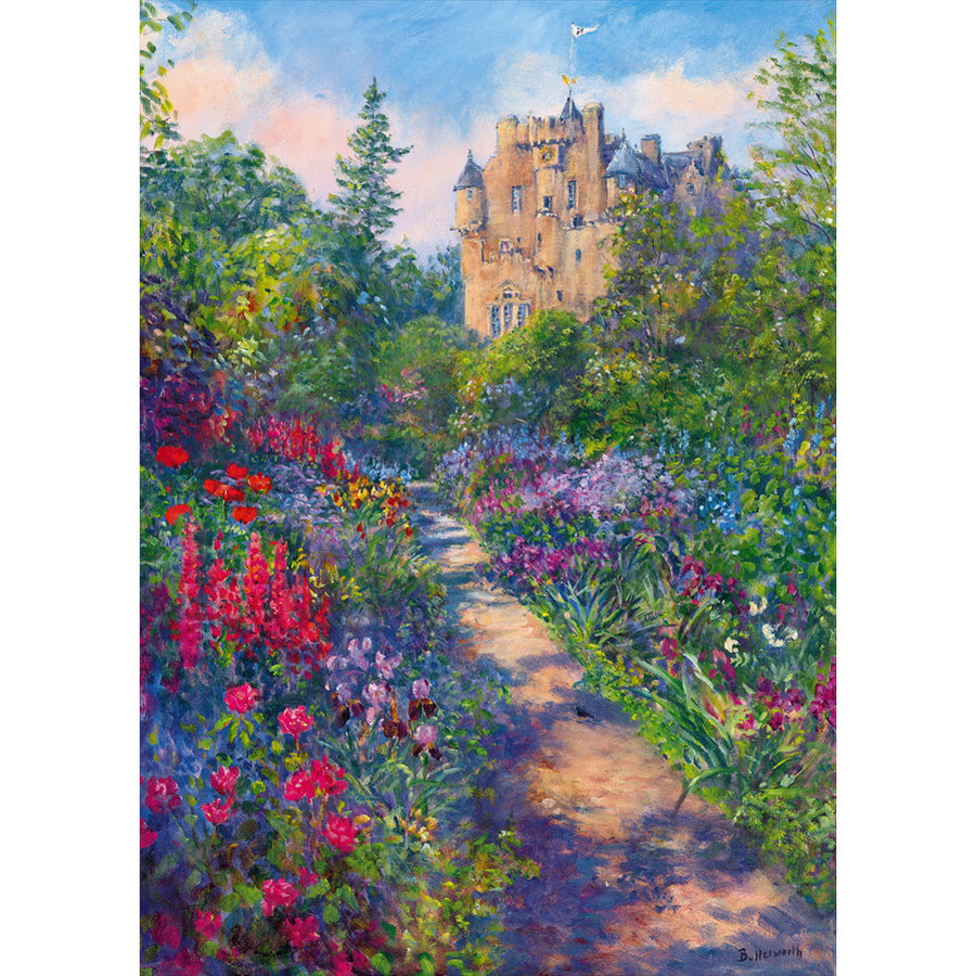 June Borders - Crathes Castle