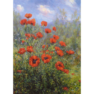 Poppies in Glenmuick