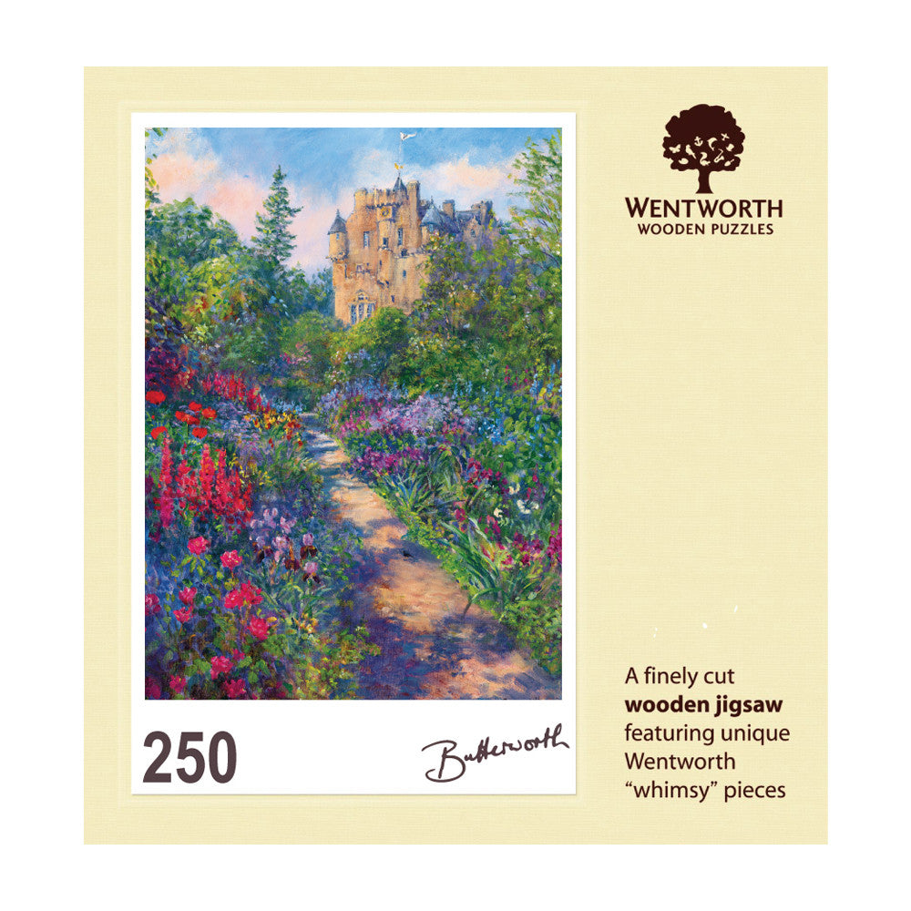 June Borders - Crathes Castle Jigsaw