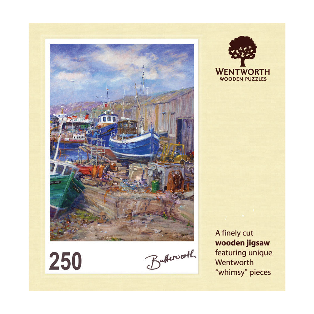 The Old Boat Yard - Mallaig Jigsaw