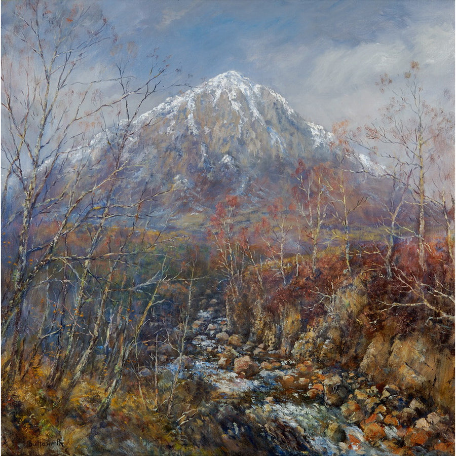 Wintry Haunts - Buchaille Etive Mhor