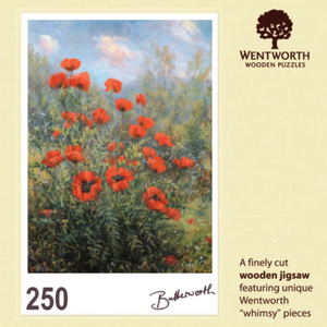 Poppies in Glenmuick Jigsaw