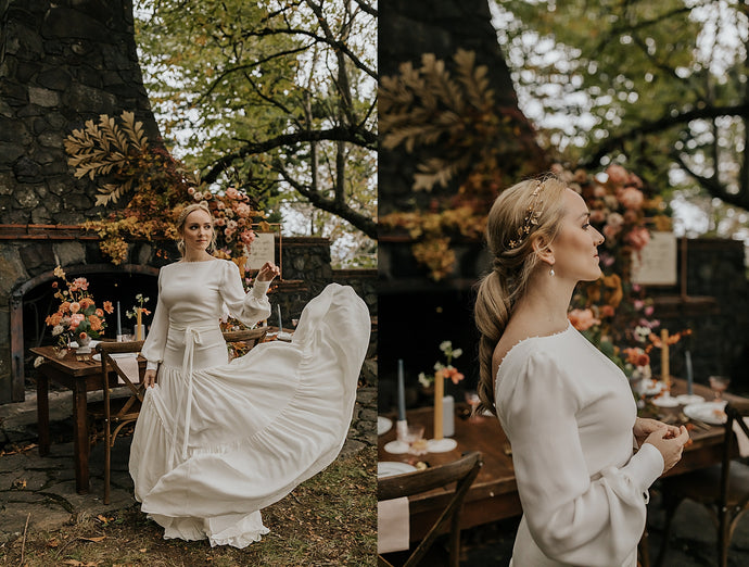 Menucha Retreat Wedding Inspiration