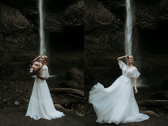 Choosing The Right Dress for A Waterfall Ceremony