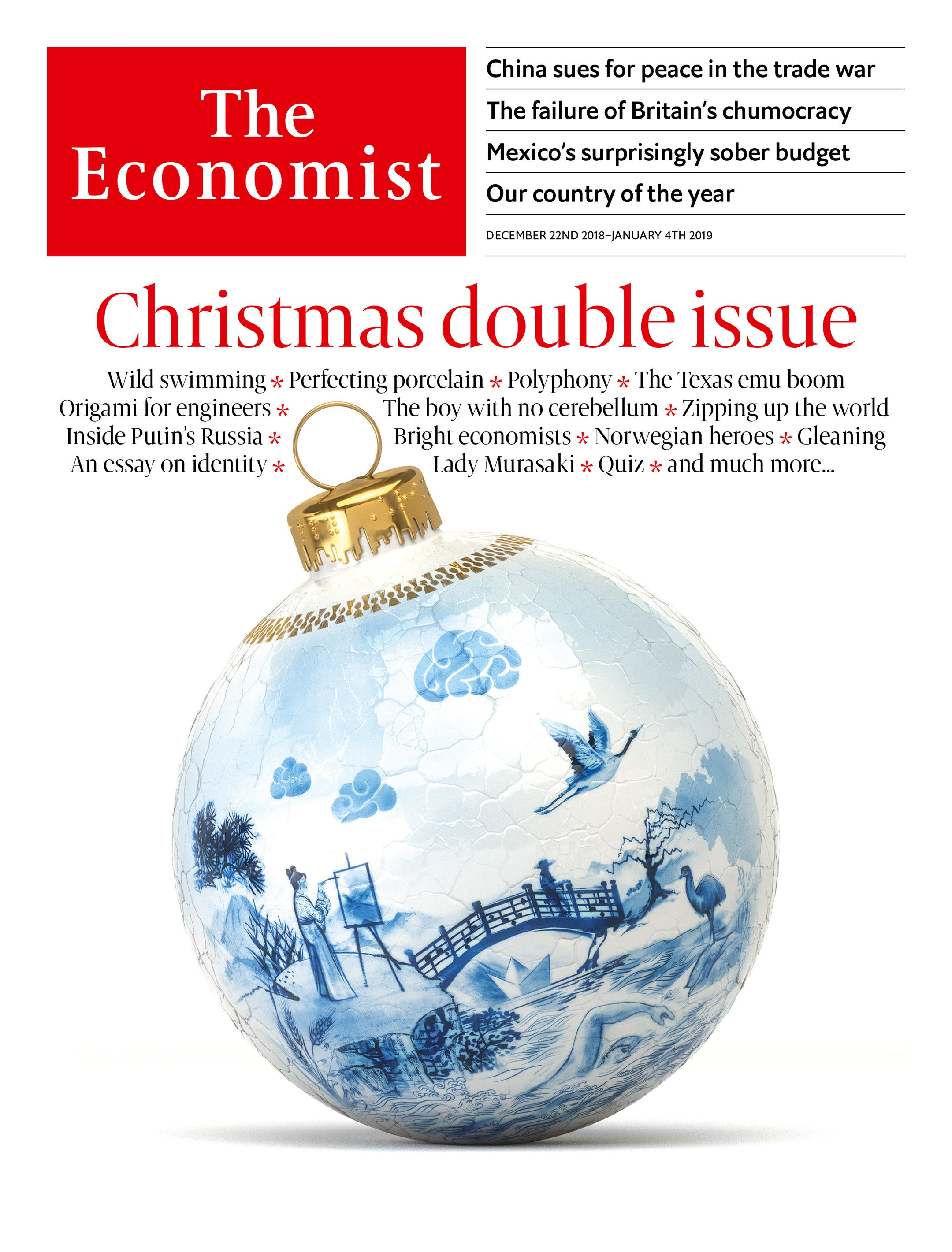 The Economist in Audio - December 22nd, 2018