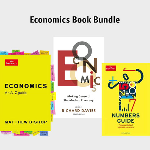 The Economist Economics Book bundle