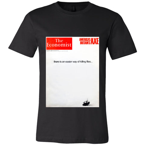 Men's T-Shirt: There is an easier way of killing flies