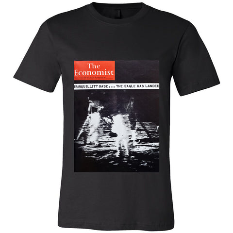 Men's T-Shirt: Tranquility base - the eagle has landed