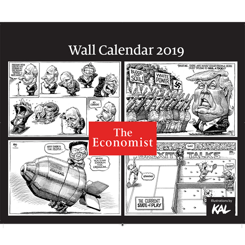 The Economist Wall KALendar 2019