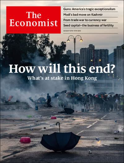 The Economist in Print OR Audio: August 10th 2019