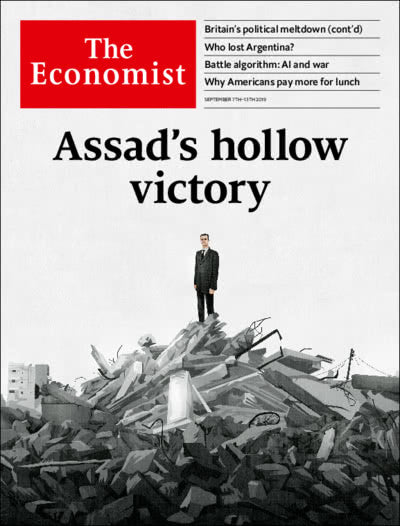The Economist in Print OR Audio: September 7th, 2019