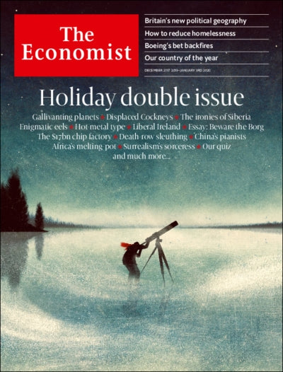 The Economist in Print OR Audio: December 21st 2019