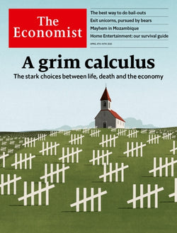 The Economist in Print OR Audio: April 4th, 2020