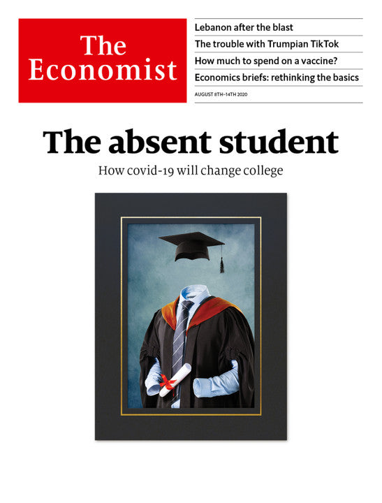 The Economist in Print OR Audio: August 8th, 2020