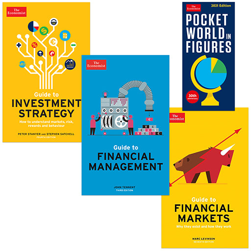 The Economist Finance Four Book Bundle