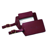 Personalized Travel Leather Luggage Tag