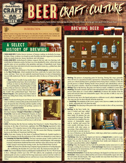 Beer - Craft & Culture Laminated Reference Guide