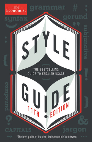 The Economist Style Guide (E-Book)
