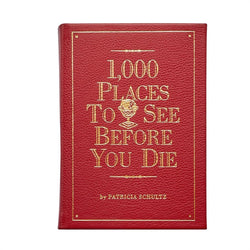 1000 Places to See Before You Die - Leather Bound