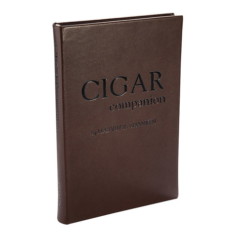 Leather Bound Traditional Cigar Companion Book