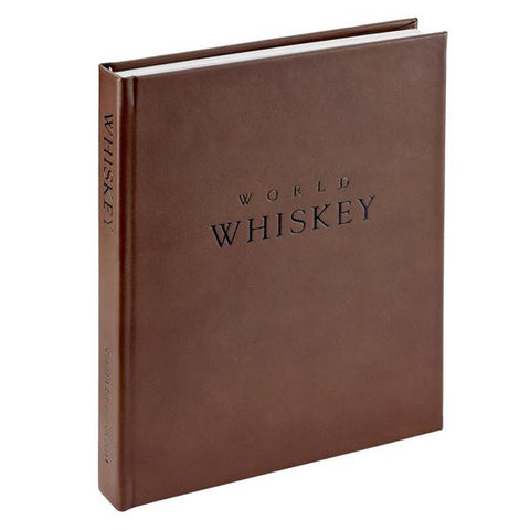 World Whiskey Book (Brown Traditional Leather)