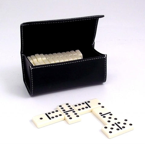 Domino Game Set w/ Leather Case