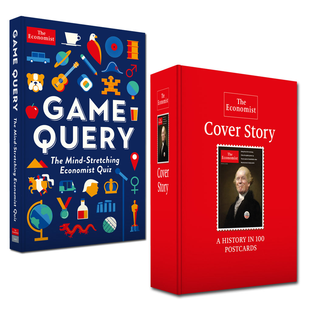 Economist Quiz/Postcard Book Bundle