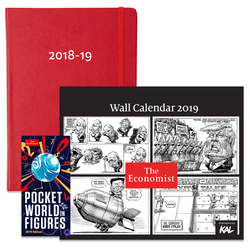 The Economist 2019 planner bundle
