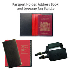 Travel leather bundle