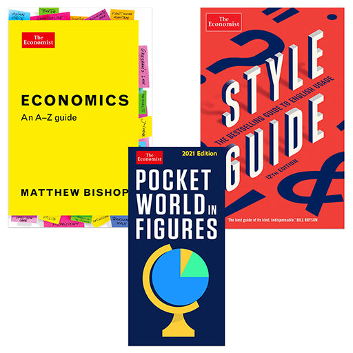 The Economist Reference Book Bundle