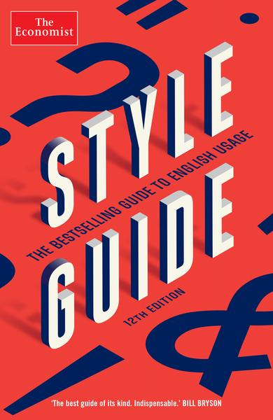 The Economist Style Guide - 12th edition (E-Book)